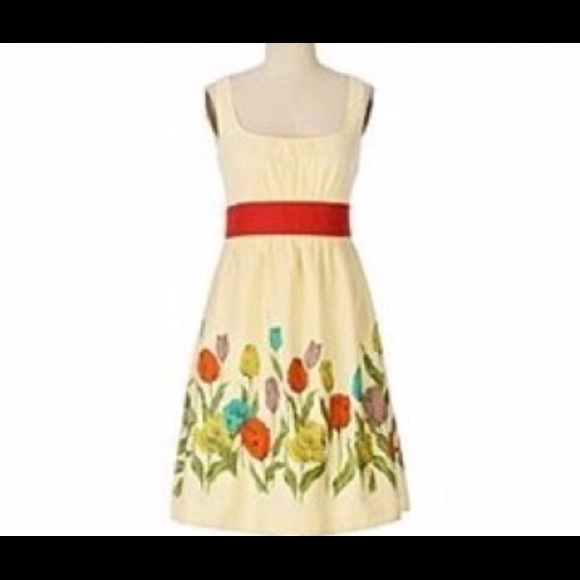 12c5b1c1b6e Anthropologie Dresses   Skirts - Anthropologie Maeve Wye Valley Tulip Dress  size 4
